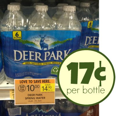 Cheap Bottles Water At Publix - As Low As 17¢ Per Bottle