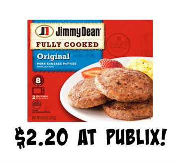 jimmy dean publix