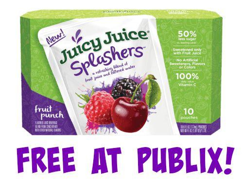 juicy juice splashers publix