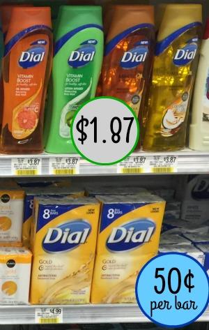 dial publix - soap -body wash