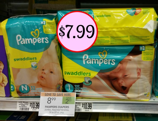 pampers swaddlers coupons - 550×420