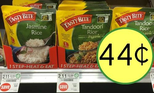 Tasty Bite Rice Coupon