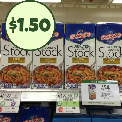 New Swanson Coupons - $1.50 Broth At Publix