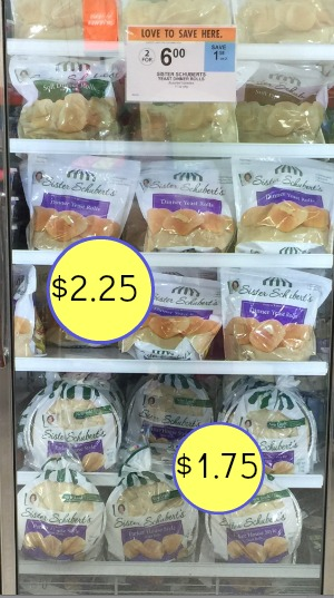 Nice Price On Sister Schubert S Parker House Yeast Rolls At Publix