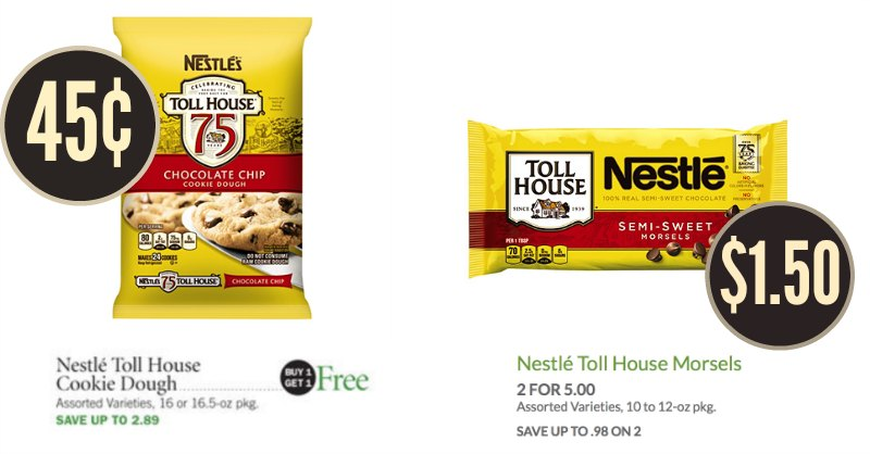 nestle toll house publix