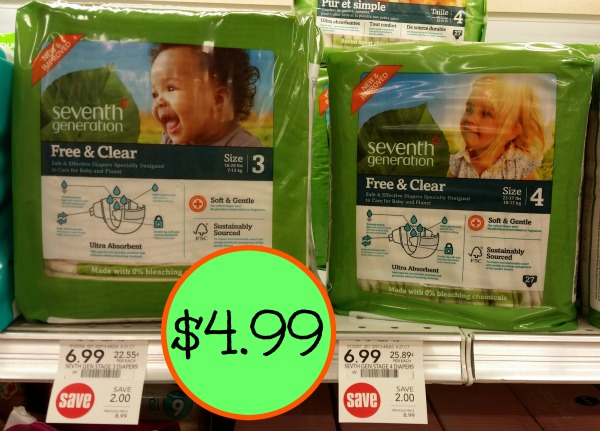 Seventh Generation Diapers Just $4.99 At Publix