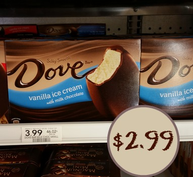 New Ice Cream Bar Coupon – Dove Bars Just $2.99 At Publix