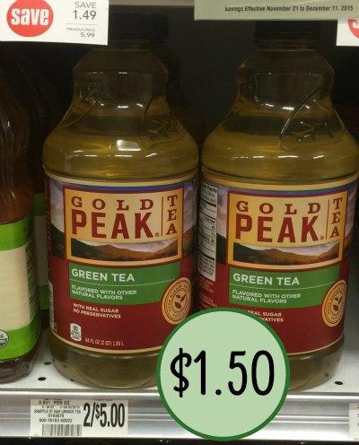 gold peak tea coupons, I Heart Publix