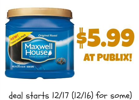 Maxwell house coffee coupon canada