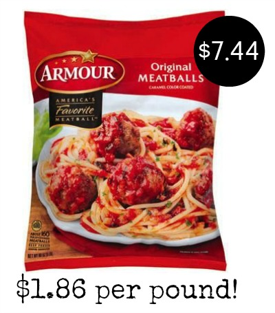 Armour meatballs coupons