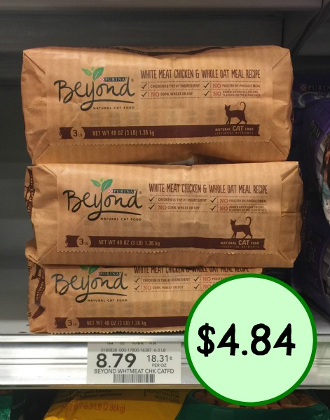 New Purina Beyond Coupons Cat Food Just 484 At Publix