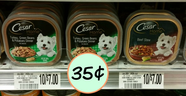 picture regarding Free Printable Cesar Dog Food Coupons named Cesar Coupon, I Centre Publix