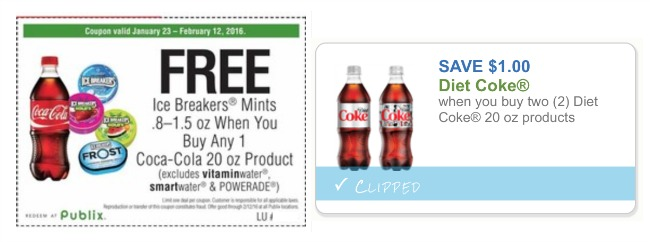 picture relating to Coke Printable Coupons named Food plan Coke coupon, I Center Publix