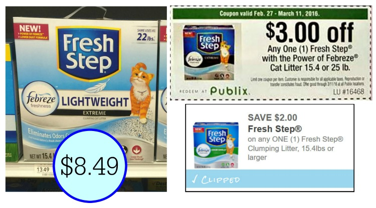 Printable coupons kitty litter