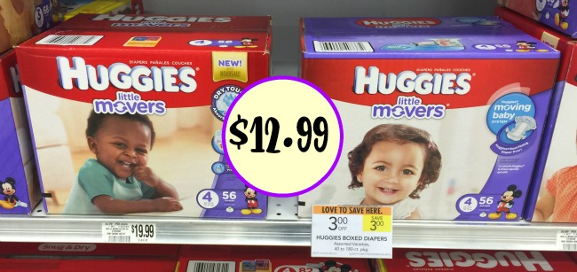 Great Deal On Boxes Of Huggies Diapers At Publix
