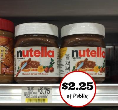 big nutella coupons great deal at publix