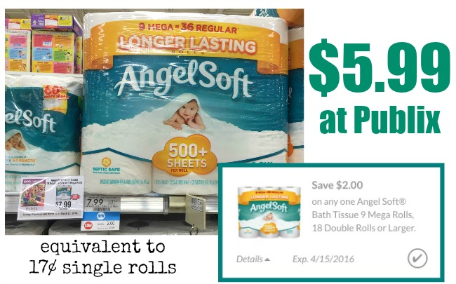 angel soft publix