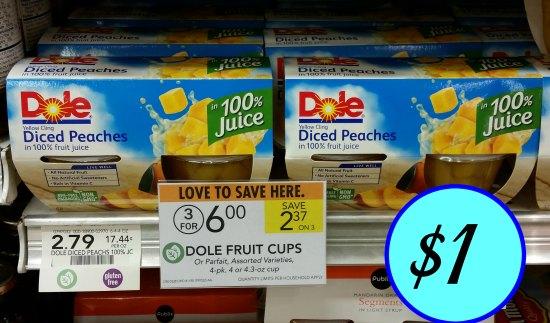 heart fruit is dole fruit cups healthy