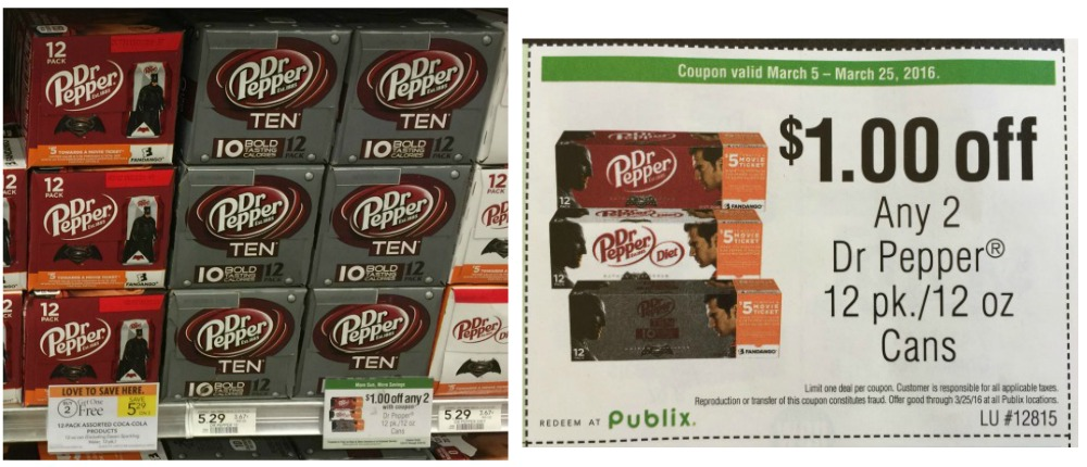 dr pepper sale publix