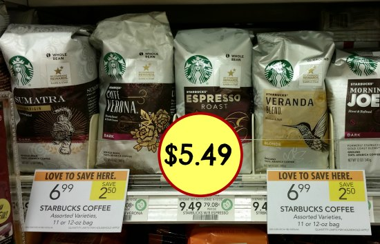 Starbucks Coupon I Heart Publix