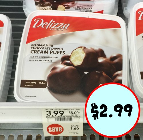 Delizza Cream Puffs Eclairs 2 99 With Coupon