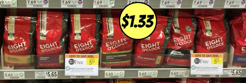 eight o clock coffee publix