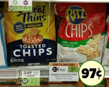 ritz and wheat thins chips