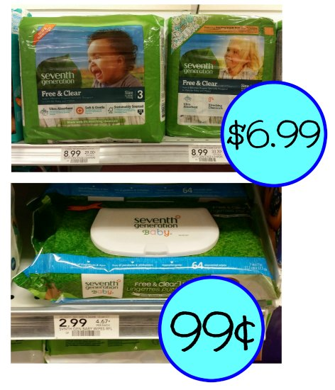 seventh generation wipes and diapers