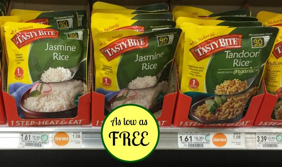 TastyBite Rice - As Low As FREE At Publix