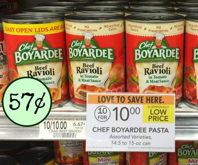 Be Sure To Pick Up A Great Deal On Chef Boyardee Canned Pasta This Week At Publix If You Wanted Get Started The Summer Stock Rebate And