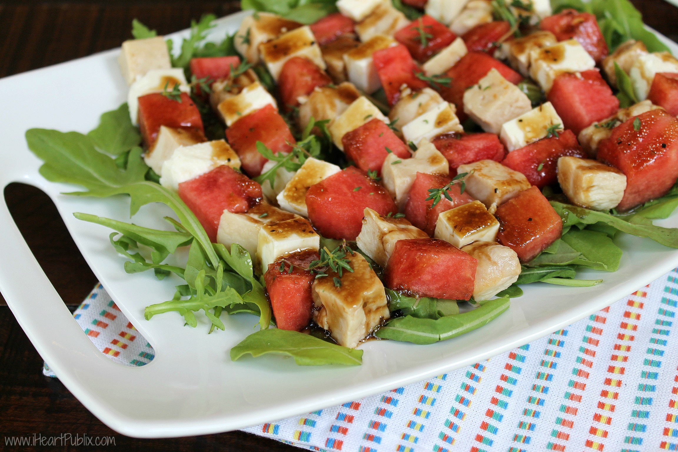 Watermelon & Chicken Salad