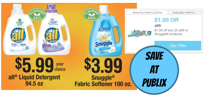 all snuggle publix