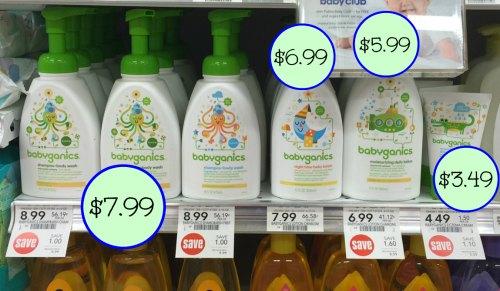 graphic regarding Babyganics Coupon Printable named Suitable Offers Upon BabyGanics Items At Publix