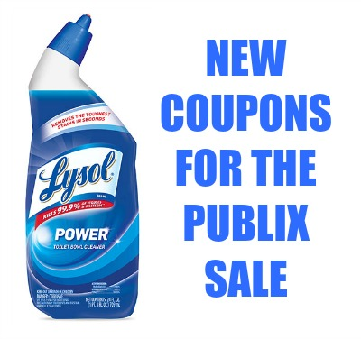 New Lysol Coupons Save On Toilet Bowl Cleaner