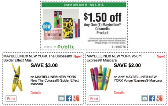 photograph about Printable Maybelline Coupons named Maybelline coupon codes, I Center Publix