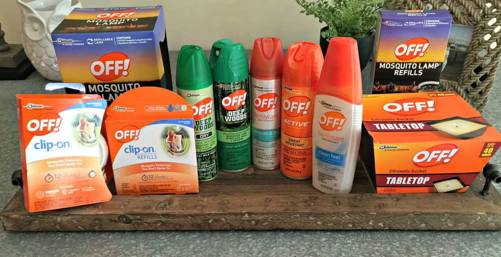 I Am Going To Help One IHeartPublix Reader Stay Outside This Fall With OFF!®  Products. I Will Be Sending Out A Big Prize Pack Of Various OFF!