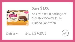 skinny cow coupon publix