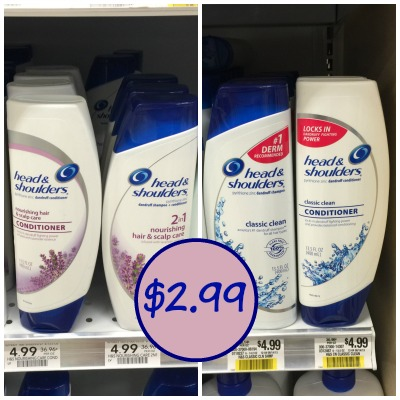 Head n shoulders coupons