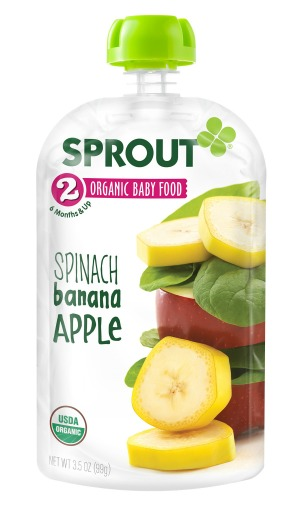 SPT101-01 stage 2 - Spinach Banana Apple - 3D