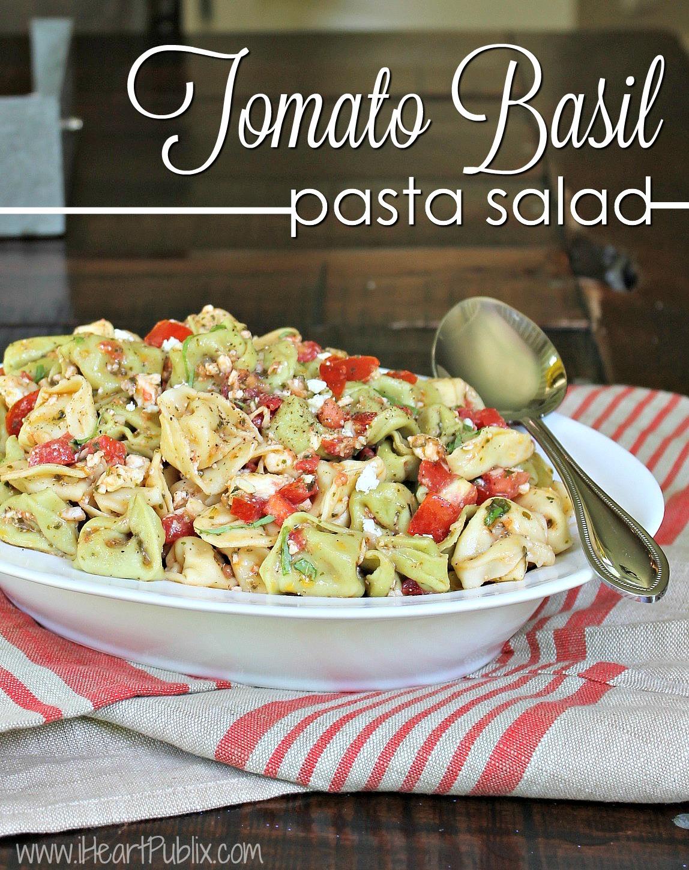 Tomato Basil Pasta Salad