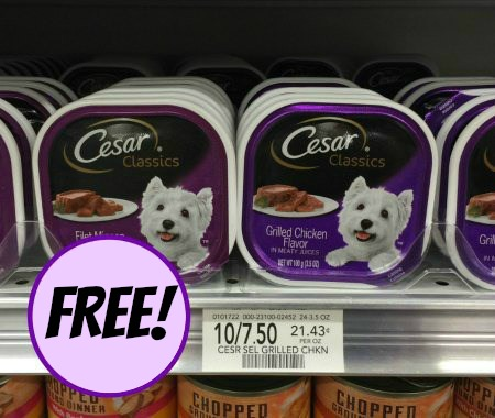 photo regarding Free Printable Cesar Dog Food Coupons identified as Cesar Coupon, I Centre Publix