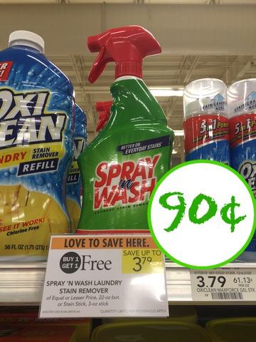 spray n wash publix