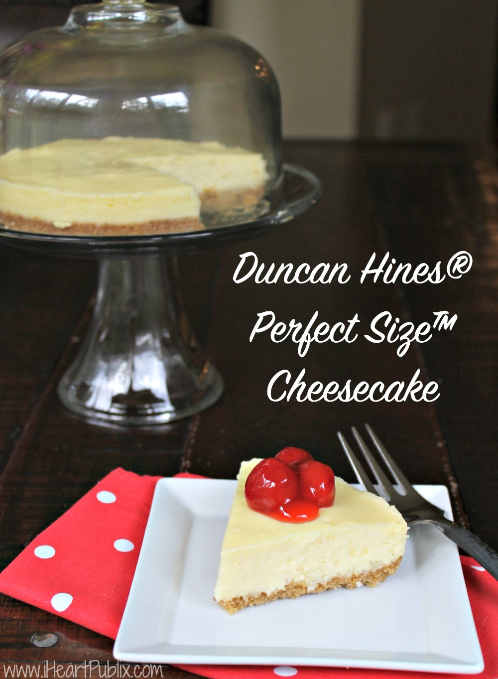 Duncan Hines® Perfect Size™ Cheesecake