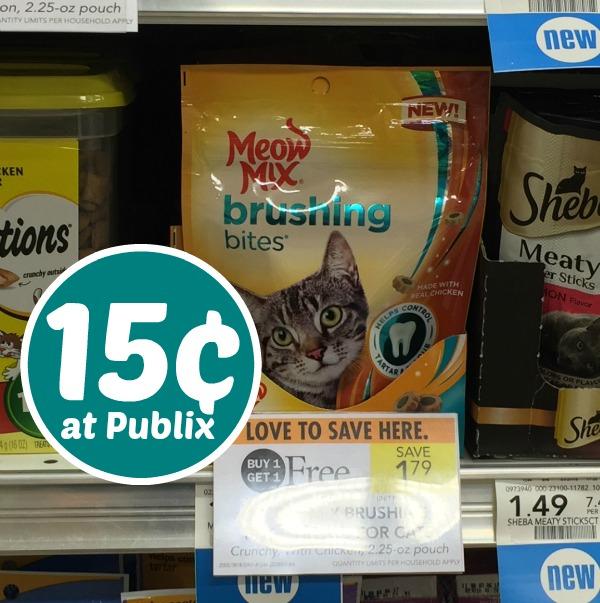Meow brushing publix