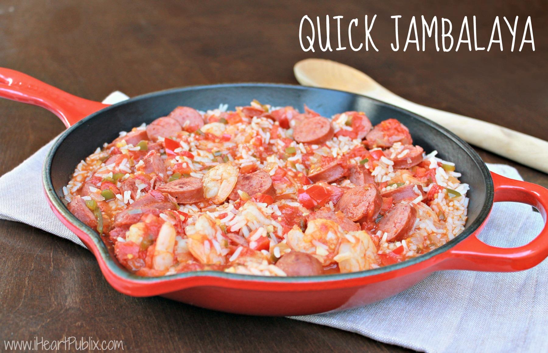 Quick Jambalaya Recipe – Fantastic Deal On Hillshire Farm® Smoked ...