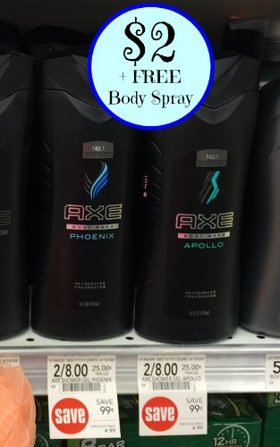 Ax body spray coupons