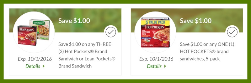 hot pockets coupon publix