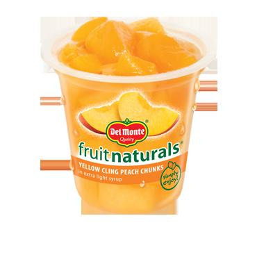 Del Monte® Fruit Naturals® Cups