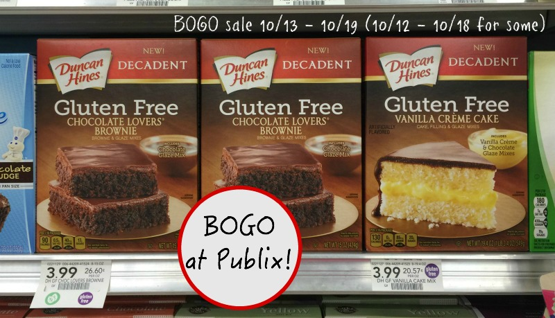 Duncan Hines 174 Gluten Free Cake Amp Brownie Mixes Stock Up