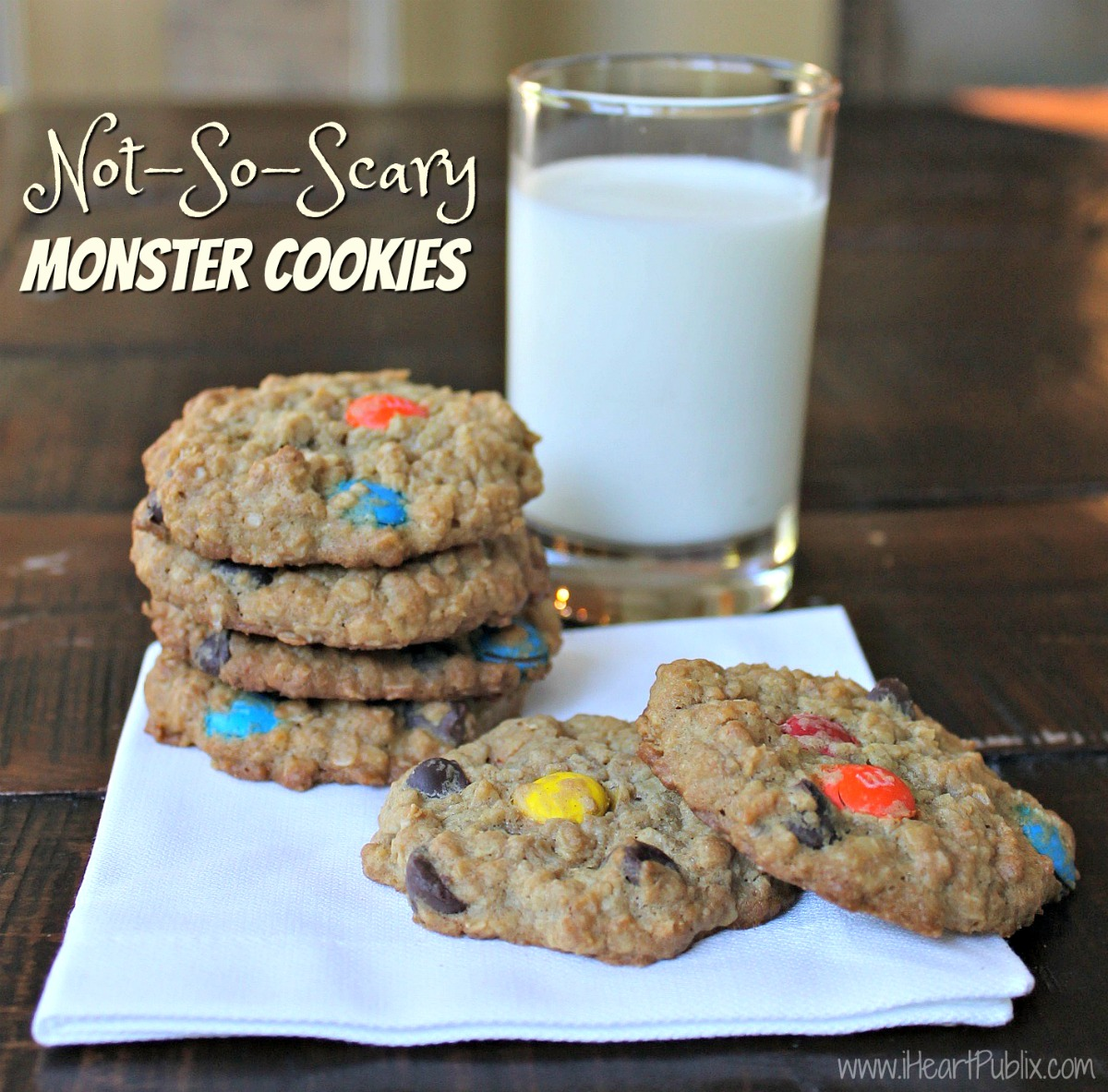 Not-So-Scary Monster Cookies